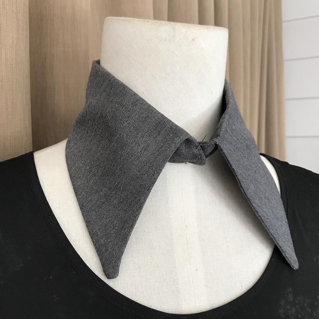 Water WIP grey sharp collar